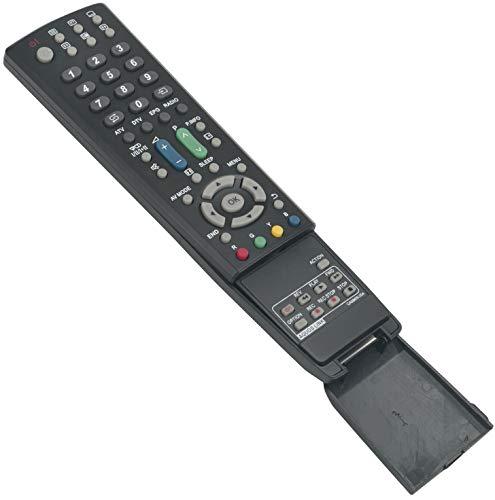 ALLIMITY GA586WJSA Fernbedienung Ersetzt für Sharp LCD AQUOS TV LC-32D653E LC-32D65E LC-32DH66E LC-32DH77E LC-32LE700E LC-32LE705E LC-32LX705E LC-32X20E LC-37D653E LC-37D65E LC-42X20E