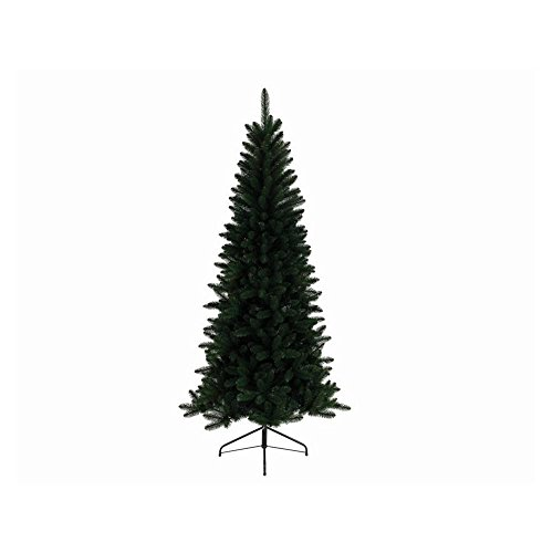 Everlands Pino Lodge Slim 180Cm Albero di Natale E Decorazioni, Multicolore, Unica