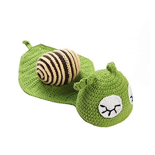 Bebé recién nacido foto accesorios de punto crochet ropa beanie sombrero atuendo foto accesorios bebé fotografía bebé marca