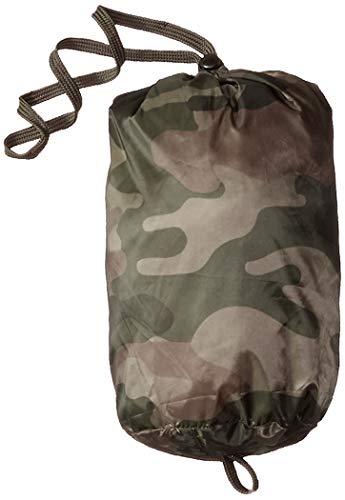 Amazon Essentials Boys' Lightweight Water-resistant Packable Hooded Puffer Jacket Down Alternative Coat, Camo Print, L