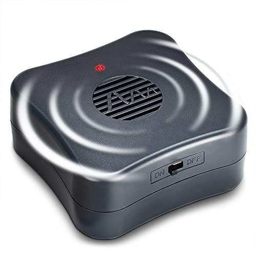 Gardigo Mäusevertreiber Mobil | Ultraschall Mäuseabwehr gegen Mäuse und Ratten | Mobil einsetzbar durch Batteriebetrieb | Wirkungsbereich bis ca. 40m²