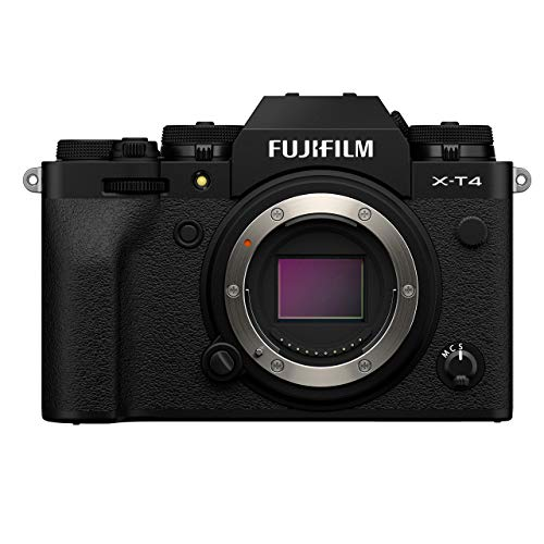 Fujifilm X-T4 Mirrorless 4K Camera