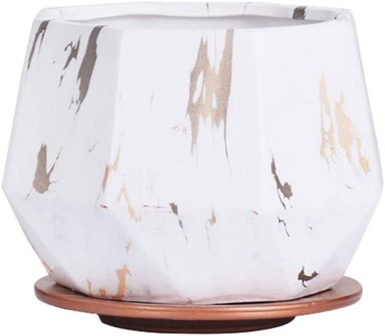 Flower Pots Golden Chassis Ceramic Pot Outdoor Surprise price Garden Courier shipping free shipping Ind