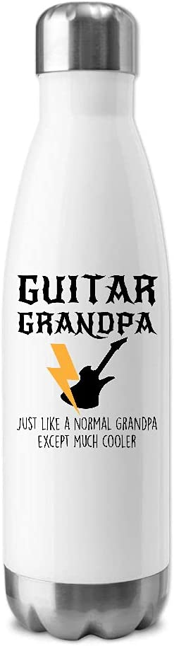 Guitar Grandpa Except Much Cooler service Water Insulated 20oz New popularity Bottle