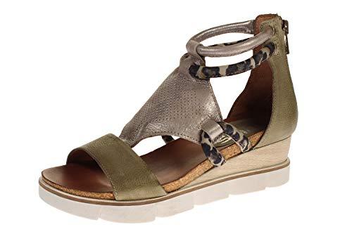 Mjus 866002-214-6197 - Damen Schuhe Sandaletten - kaki, Größe:37 EU