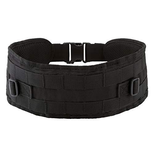 Tactical Gen II Battle Belt MOLLE Multi-Purpose Military Heavy Duty Waist Belt for Outdoor Sports(Black)