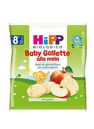 Hipp - Baby Gallette Di Riso Alla Mela Bio, 7 Confezioni da 30 G - 210 g