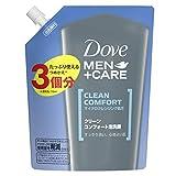 【Amazon.co.jp限定】 Dove MEN(ダヴメン) クリーンコンフォート泡洗顔 詰替え用 330ml