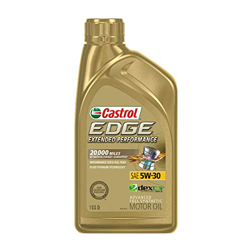 Castrol 152D8E Edge Extended Performance 5W-30 Advanced Full Synthetic...