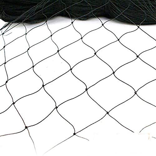 JF 15x15M Net Netting for Bird Poultry Aviary Game Pens New 6CM Square Mesh Size, Garden Netting Protects Fruit & Plant from Hungry Birds & Chickens