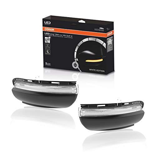 Osram LEDDMI 5K0 WT S LEDriving dynamischer Spiegelblinker - White Edition, Set of 2