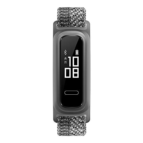 Huawei Band 4e wasserdichter Bluetooth Fitness- Aktivitätstracker mit 6-achsigem Bewegungssensor, OLED Display und Touchscreen, Misty Grey