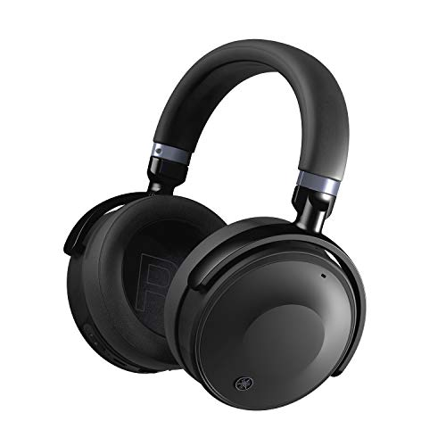 Yamaha YH-E700A kabellose Over-Ear Kopfhörer schwarz – Advanced Active Noise Cancelling Kopfhörer mit 35 h Akkulaufzeit und Freisprechfunktion