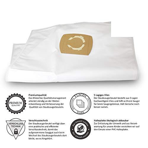 10 X sacchetti per aspirapovere Prof. adatto