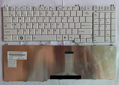 Replacement for Toshiba Satellite C650 C650D C655 C660 C660D C665 C670 C675 L650 L650D L655 L670 L675 L750 L750D L755 L770 L775 Laptop English Keyboard US P/N MP-09N13US-6981