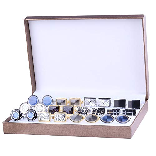 BodyJ4You Cufflink 12 Pairs Two ...