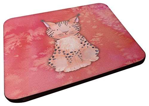 Caroline's Treasures BB7397FC Lynx - Posavasos decorativos, 3,5, multicolor