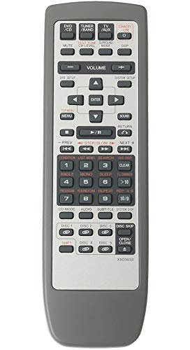 ALLIMITY XXD3033 Remote Control Replacement for Pioneer DVD CD Receiver S-HTD1 S-HTD5 S-HTD50 S-HTD510 S-HTD520 XV-HTD1 XV-HTD50 XV-HTD510 XV-HTD5100V XV-HTD510DV XV-HTD510DVA XV-HTD520