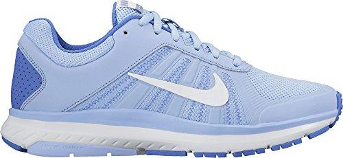 Nike Wmns Dart 12, Scarpe Running Donna, Blu (Azul/(Aluminum/White/Medium Blue) 000), 37.5 EU