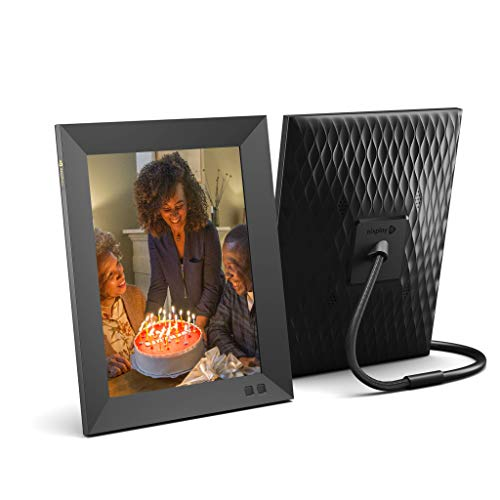 Nixplay 2K Smart Digital Picture Frame 9.7 Inch, Share Moments Instantly via App or E-Mail