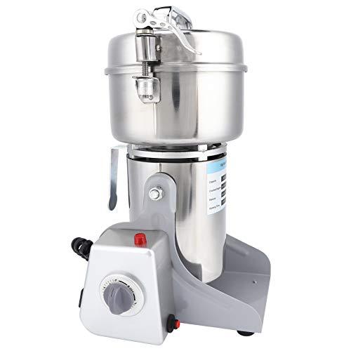 Molinillo eléctrico, 700g Molinillo eléctrico de acero inoxidable de alta velocidad Granos Especias Café Molino de alimentos secos Máquina de molienda(European standard 220V)