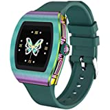 Sanag Smart Watch,Smart Watch for Android Phones with Heart Rate,Blood Pressure, Blood Oxygen, IP68 Waterproof Pedometer Smartwatch for Women with Sleep Tracker, Steps, Music, Weather Forecast
