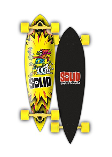 Solid Longboard Kid Pintail, Yellow, 1201000160