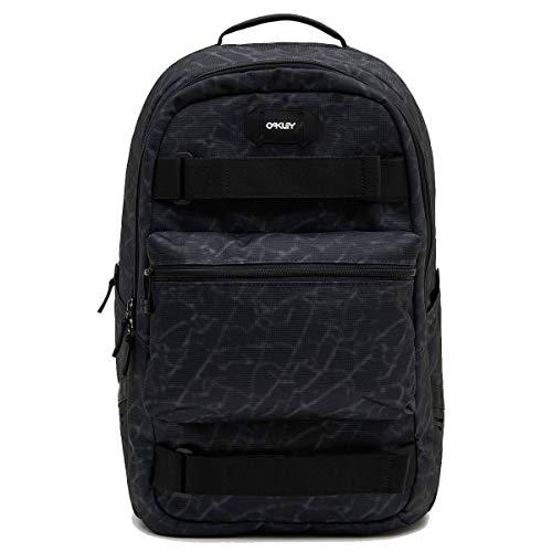 Oakley Street Skate Backpack Black Glass Print One Size