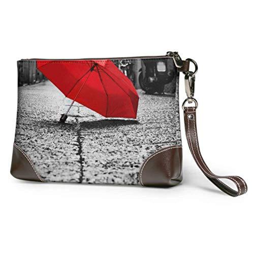 Hdadwy Bolso de mano suave impermeable para mujer, paraguas