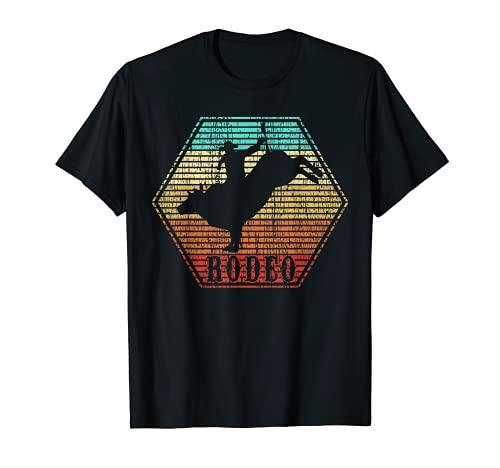 Rodeo Bull Riding Vintage Cowboy T-Shirt