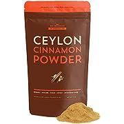 SB Organics Ceylon Cinnamon Powder - 1 LB Bag of Organic Kosher Non-GMO Pure Ground Cinnamon from Sri Lanka