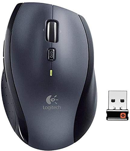 Logitech Marathon M705 - kabellose Maus (für Notebook/Computer mit 3 Jahren Batterielebensdauer) einfarbig 3er Pack