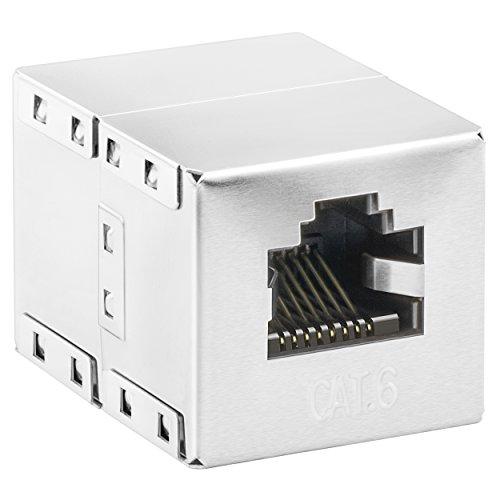 mumbi CAT.6 Ethernet Modular Kupplung/ RJ45 Netzwerkkabel Buchse/Adapter für Cat6 Kabel (1 Stück)