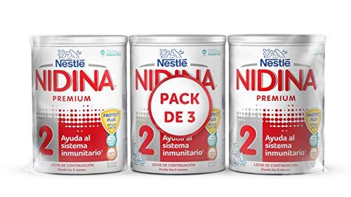 Nidina 2 pack de 3 latas