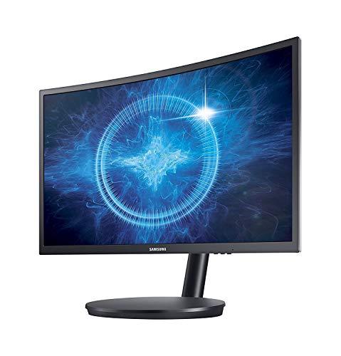SAMSUNG C27FG70 69cm 27Zoll Wide TFT 16:9 1920x1080 3000:1 1ms Pivot Curved Gaming DP HDMI schwarz (Generalüberholt)