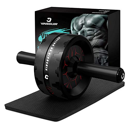 Vinsguir Ab Roller for Abs Workout, Ab Roller Wheel Exercise Equipment for Core Workout, Ab Wheel...