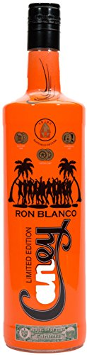 Ron Caney Blanco 1 lt Rum botella FLUO
