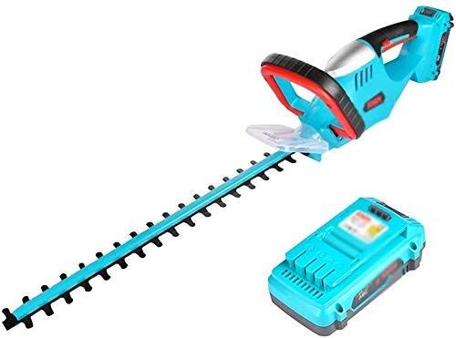 NBVCX Life Accessories Cortacéspedes rotativos Cortasetos eléctrico Cortasetos eléctrico Cortasetos eléctrico Recargable Poda de jardín (tamaño: Dos baterías de 2ah)