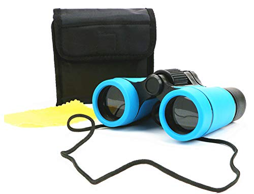 Scotamalone Kid Binoculars Shock Proof Toy Binoculars Set - Bird Watching - Educational Learning - Hunting - Hiking - Birthday Presents -Gifts for Children