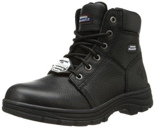 Skechers for Work Men s Workshire Condor Work Boot,Black,10.5 M US