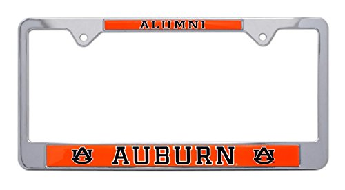AMG Auto Emblems All Metal NCAA Alumni License Plate Frame … (Clemson)