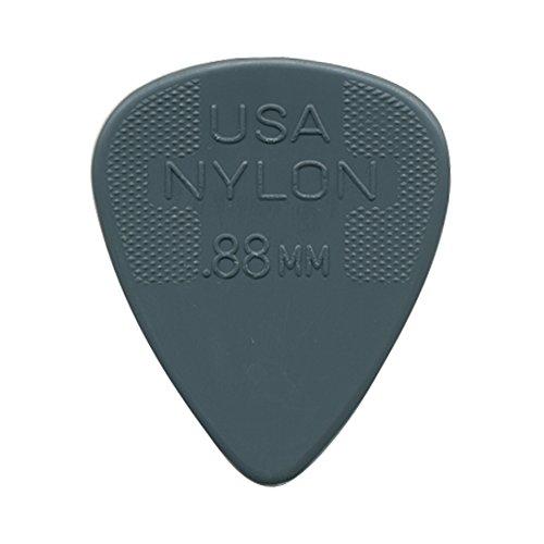 Dunlop 44R.88 Nylon Standard, Dark Gray, .88mm, 72/Bag