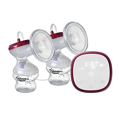 Tommee TippeeMade for MeDoubleElectric Breast Pump, Quiet and...