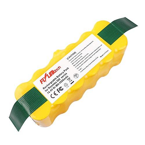 Flylinktech Sostituzione della batteria 4500 mAh Ni-MH compatibile con iRobot Roomba R3 500 600 700 800 900 Serie 530 531 532 535 536 540 550 552 560 570 580 595 620 650 660 760 770 780 790 870 980
