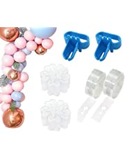 OfferDeal Balloon Decorating Strip Kit for Arch Garland 32Ft Balloon Tape Strip, 2 Pcs Tying Tool, 200 Dot Glue, 20 Ballon Flower Clip for Party Wedding Birthday Xmas Baby Shower DIY
