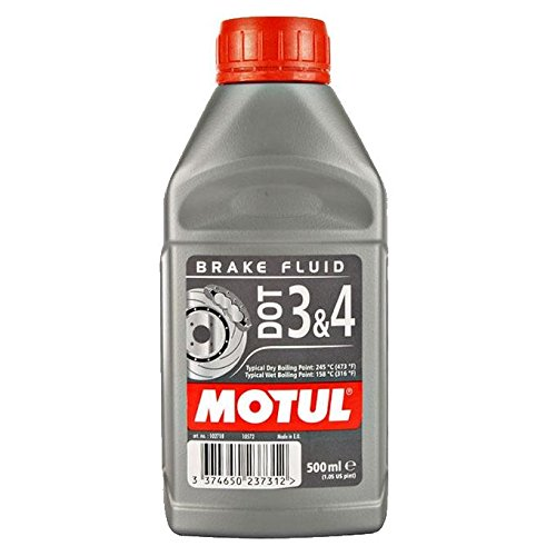 Huile de frein Dot 3 & 4 Motul 500 ml