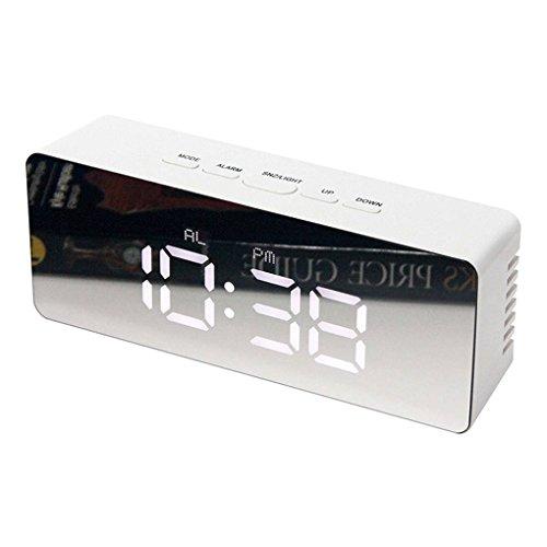Kineca LED Digital Despertador 12H 24H Alarma repetitiva
