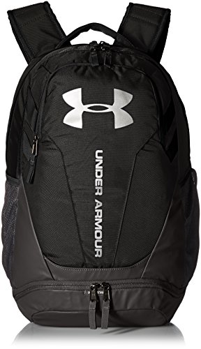 Under Armour UA Hustle 3.0, Zaino Unisex, Nero (Black/Black/Silver 001), Taglia Unica