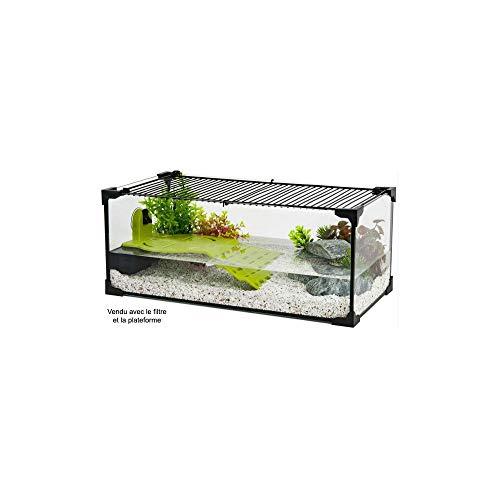 Zolux - Acuario para tortuga de agua (60 cm)