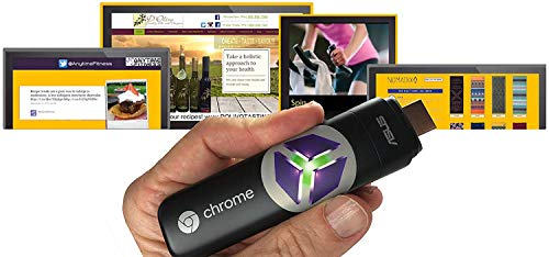 SmartSign2go Lite Digital Signage Google Chromebit Media Player with Easy-to-Use Cloud-Based Software (Includes 2-Week Free Software Trial)